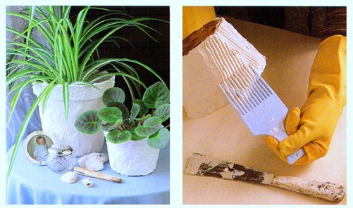 Using plastic pots for houseplants