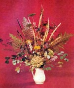 Flower Arranging With Dried Flowers
