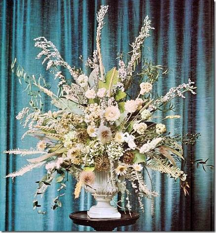 Using Silver-leaved Plants In Dried Arrangements