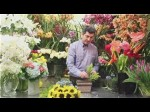 Asymmetrical Styles Of Flower Arranging