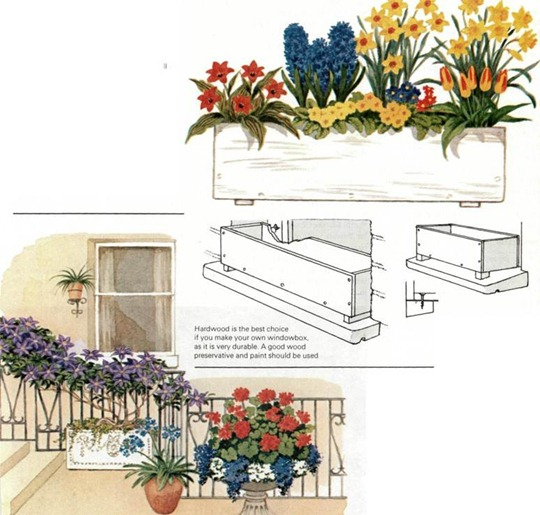 make your own window boxes